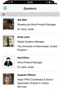 IGeLU 2015 conference App