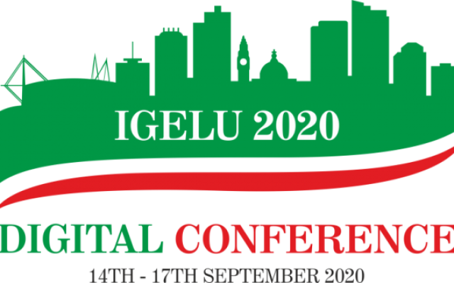 IGeLU 2020 - Digital Conference - 14th-17th September 2020