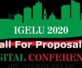Call For Proposals - Igelu Digital Conference 2020